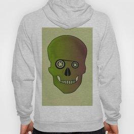 skull casette print Hoody