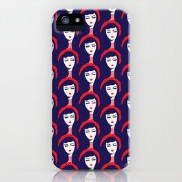 Oh Hello Rosie - Blue iPhone Case