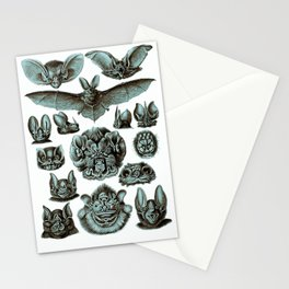 Ernst Haeckel Bats Moonlight Stationery Cards