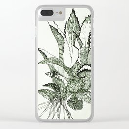 Agave, Kiss of Mezcal the Spirit of Mexico Clear iPhone Case
