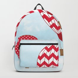 Red Hot Air Balloons Backpack