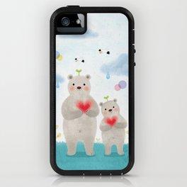 warm heart iPhone Case