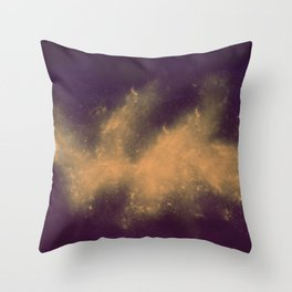 War Abstract Galaxy Nebula Space V5 Throw Pillow