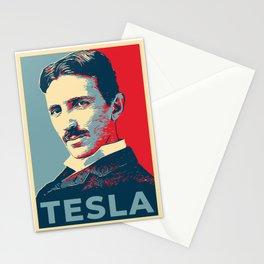 Tesla poster Stationery Cards