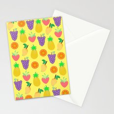 We love food & fruits Stationery Cards