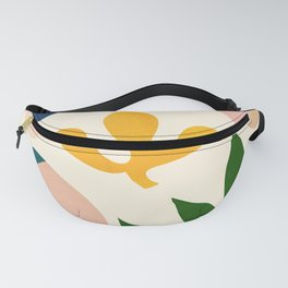 Abstraction_Floral_001 Fanny Pack