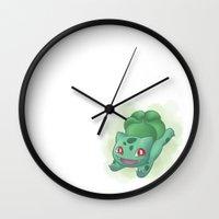 subaru Wall Clocks featuring #001 by Subaru
