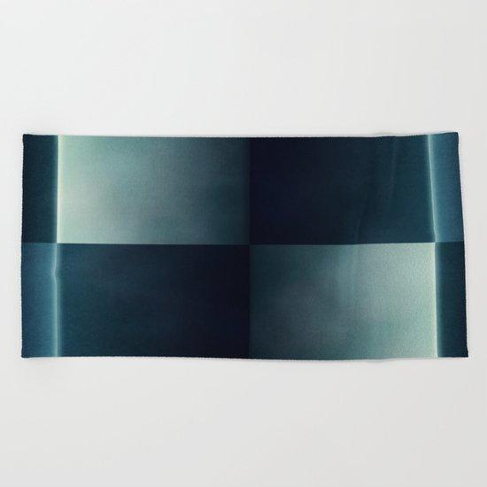 Squares #5 Beach Towel