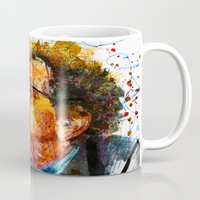 kurt rahn Mugs featuring kurt by benjamin james