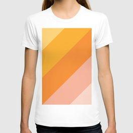 Tropical sunrise gradient T-shirt