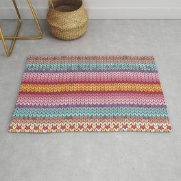 knitting pattern Rug