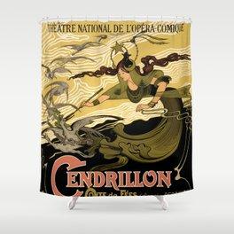 Cendrillon, Théâtre National de l'Opéra-Comique, Paris Shower Curtain