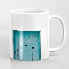 Minimalist Greek Architecture, Sifnos island Coffee Mug