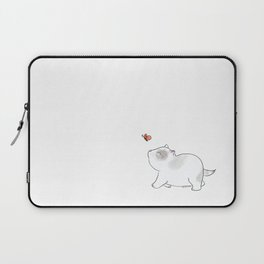 Wait for me, Butterfly. Laptop Sleeve