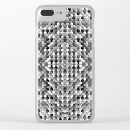 3105 Mosaic pattern #2 Clear iPhone Case