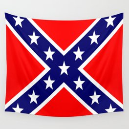 Confederate Third national flag (The Blood Stained Banner) Wall Tapestry