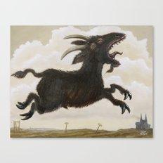 Ave Satani Canvas Print
