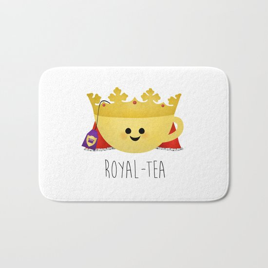 Royal-tea Bath Mat