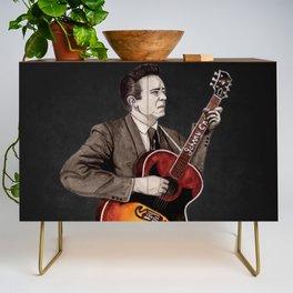 Johnny Cash Credenza