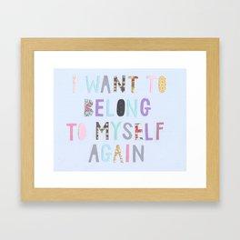 tenderqueerthings #18 Framed Art Print