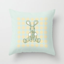 Sniffy – the Snuggly Bunny Throw Pillow