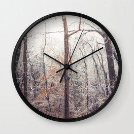 Winter Woods #2 Wall Clock