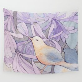 Affable Bird Wall Tapestry