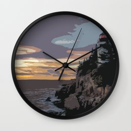 Color of Light Wall Clock