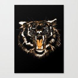 Roar Tiger Canvas Print