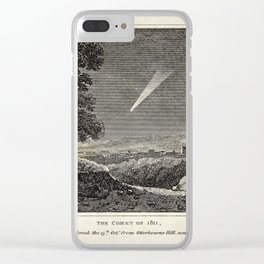 The Comet of 1811, as seen at day break on the 13th October, Winchester Clear iPhone Case