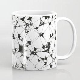 Black White Abstract Pattern, entanglement Coffee Mug
