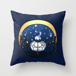 Chandelure Throw Pillow