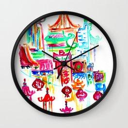 Chinatown 1 Wall Clock