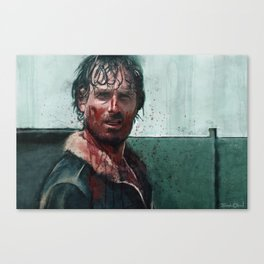 Don't Mess WIth Rick Grimes - The Walking Dead Canvas Print