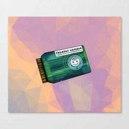 Green Chip Canvas Print