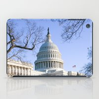 dc iPad Cases featuring Capitol- DC by mariavilla