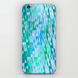 Energy Field (green-blue) iPhone Skin