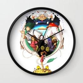 Spirited away Wall Clock