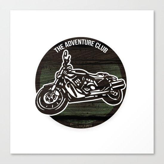 The Adventure Club Canvas Print