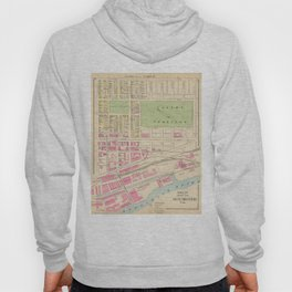 Vintage Map of Manchester NH (1892) (2) Hoody