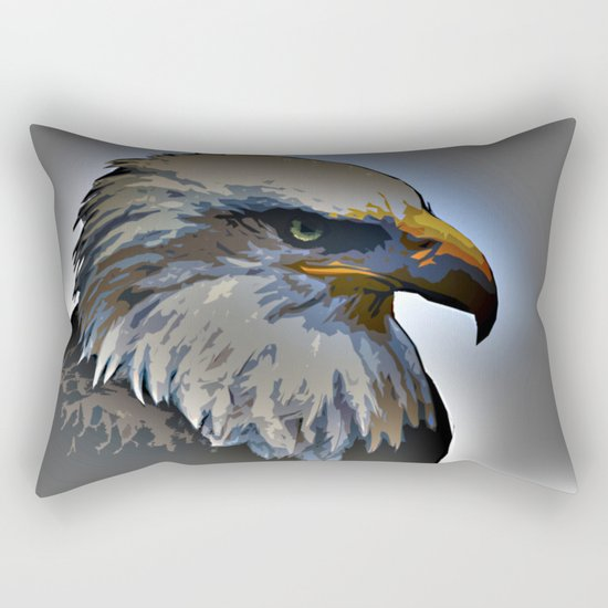 Eagle Rectangular Pillow