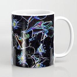 FLOWERS AT MIDNIGHT Coffee Mug