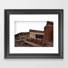 The Show goes on - Fulton School Framed Art Print