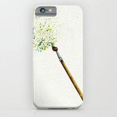 Feathers & Flecks (Canvas Background Edition) iPhone 6s Slim Case