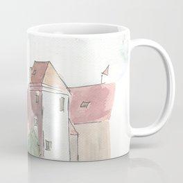 Landshut Bavaria Riverside With Isar City Wall And St-Martin Coffee Mug