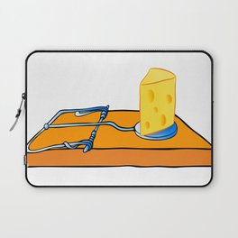 mousetrap with cheese Laptop Sleeve