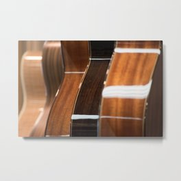 Recurring Guitar Dream Metal Print