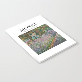 Monet - The Artist's Garden at Giverny Notebook