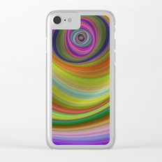 Eye of the Sky Clear iPhone Case