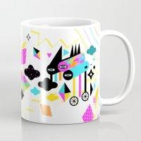 gravity Mugs featuring Gravity by Muxxi